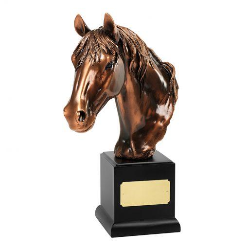 30SPPAME006_verbronsde_paardensport_award_bronze_plated_equestrian_award_trophy