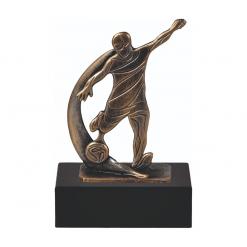 Voetbal awards trofeeen van metaal