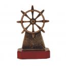 Metalen scheepvaart awards beeldjes