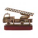 Brandweerwagen beeldjes awards van metaal