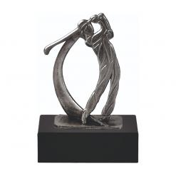Golf beeldjes awards van metaal
