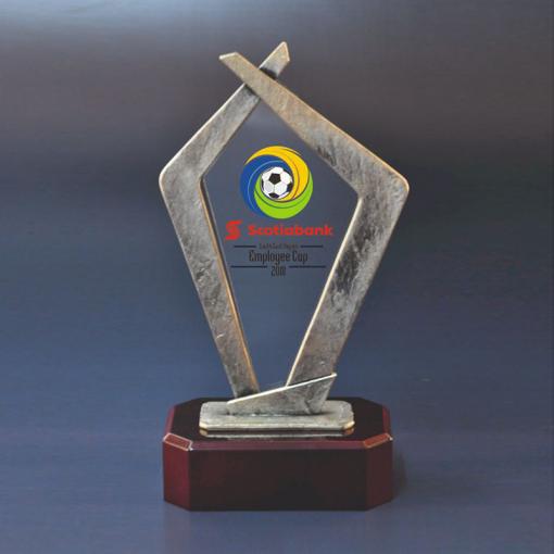 Awards van acrylaat en metaal bestellen of laten maken