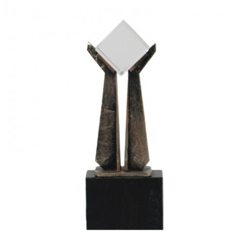 35-833CRT-B-crystal-glas-metaal-beeldjes-awards-geschenken