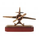 Vliegtuig beeldjes awards van metaal
