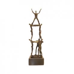 teamwork prestatie awards beeldjes beelden en sculpturen laten maken
