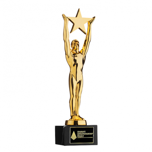 60AWBEME002-Oscar-Replica-Awards-Trofeeen-Metaal