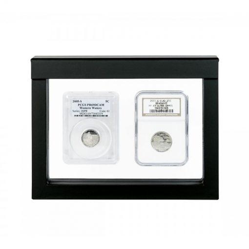 Displays voor penningen, munten, geschenken en awards