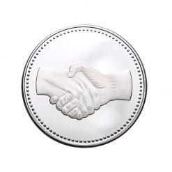 samenwerking teamwork geschenken munt penning
