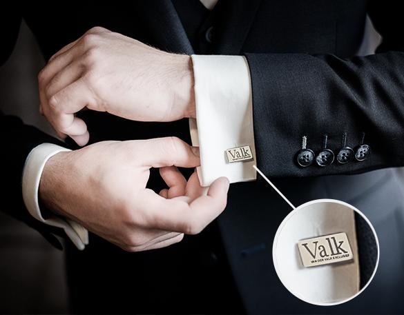 Manchetknopen laten maken met uw logo
